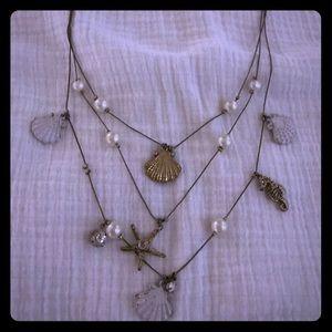 Betsy Johnson shell necklace